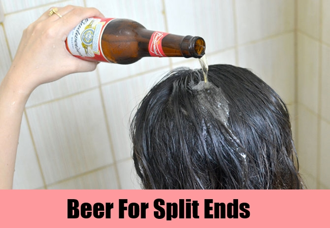 Beer For Split Ends