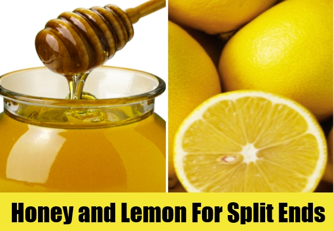 Honey and Lemon For Split Ends