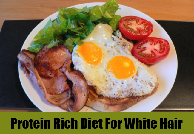 Protein Rich Diet For White Hair