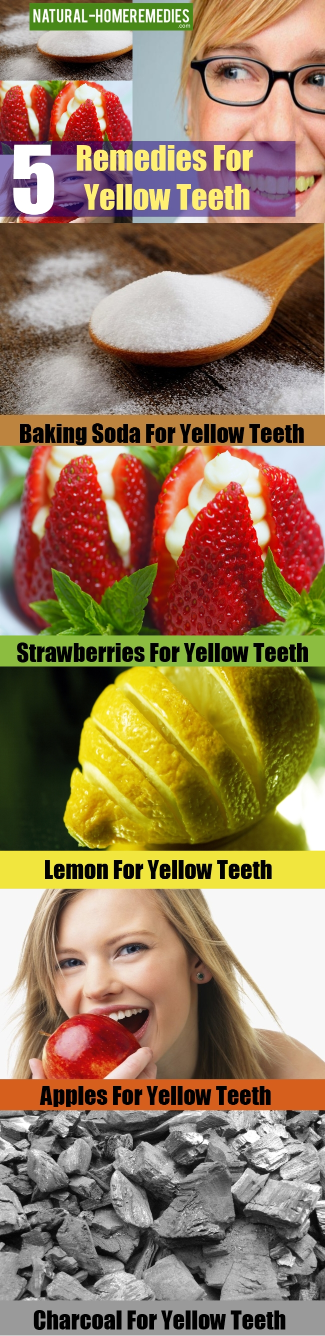 Remedies For Yellow Teeth
