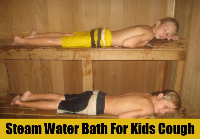 Steam Water Bath For Kids Cough