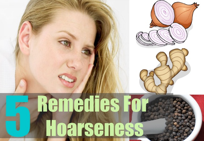 5 Remedies For Hoarseness