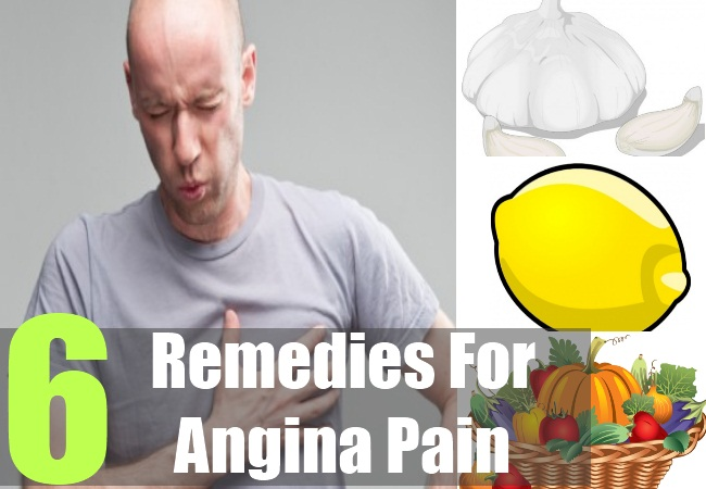 6 Remedies For Angina Pain
