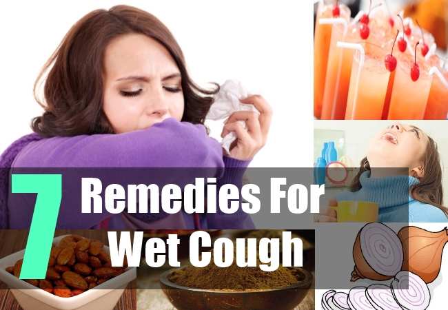 7 Remedies For Wet Cough