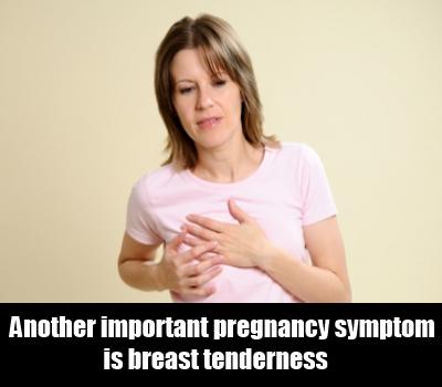 breast tenderness