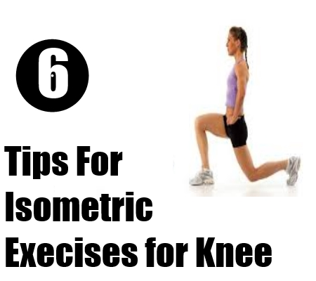 Execises for Knee