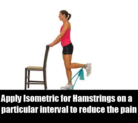 Isometric for Hamstrings