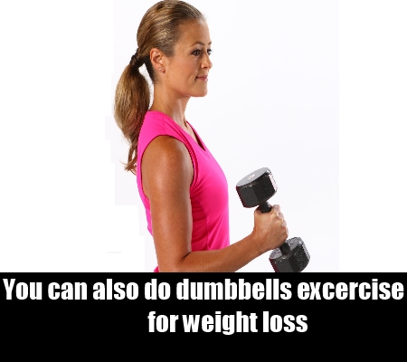 dumbbells excercise