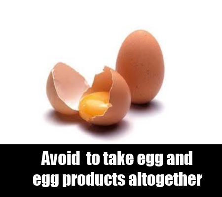 avoid egg