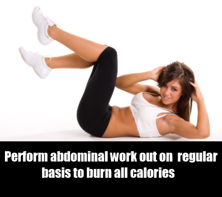 regular abdominal workouts