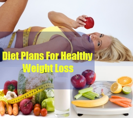 Diet Plans For Healthy Weight Loss
