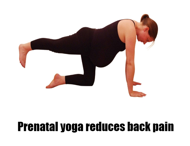 Reduces back pain