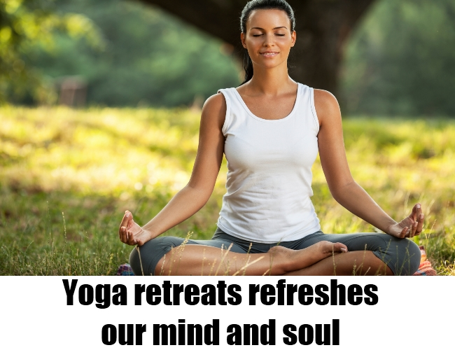 Refreshes our mind and soul