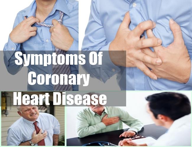 Symptoms Of Coronary Heart Disease