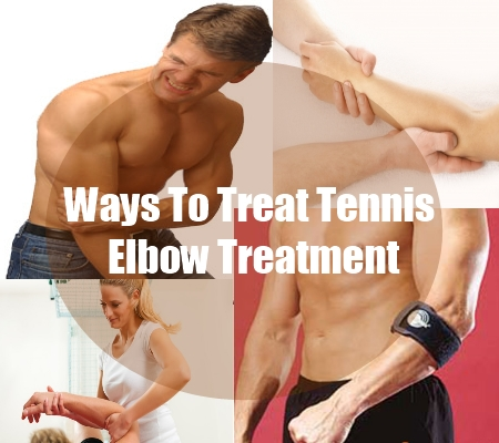 Ways To Treat Tennis Elbow Treatment