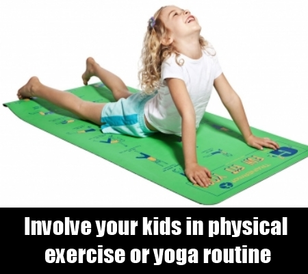 kids fitness an area of concern  natural home remedies