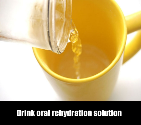 Drink oral rehydration solution