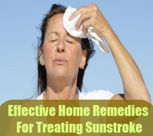 Home Remedies For Treating Sunstroke