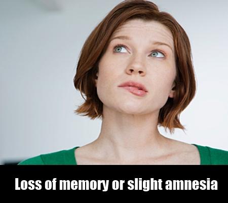 Loss of memory