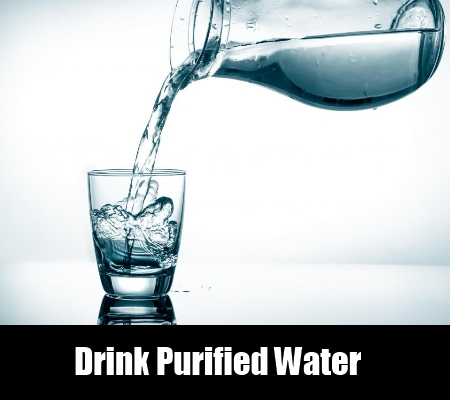 Drink Purified Water