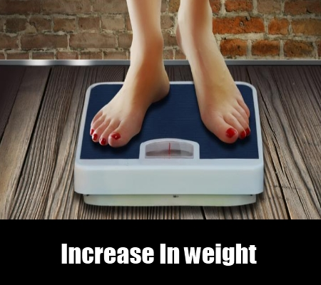 Increase In weight
