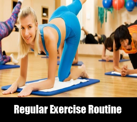 Regular Exercise Routine