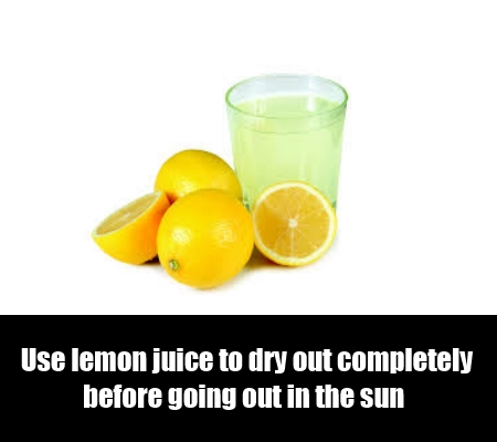 Lemon Juice To Eliminate Age Spots