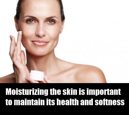 Moisturize The Skin Daily