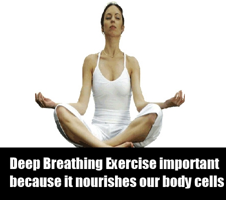 Deep Breathing Exercise Is Simple
