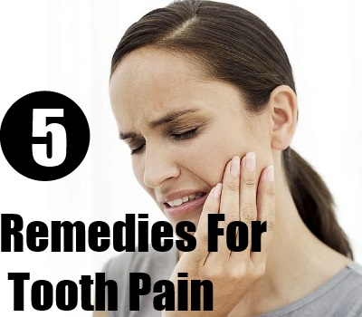 Remedies For Tooth Pain