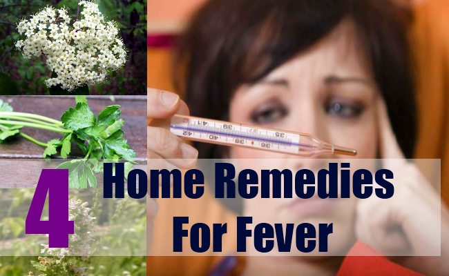 4 Home Remedies for Fever