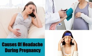 Causes Of Headache During Pregnancy