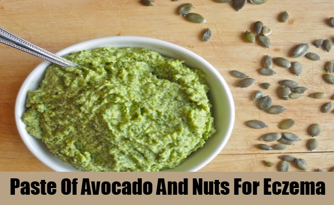 Paste Of Avocado And Nuts