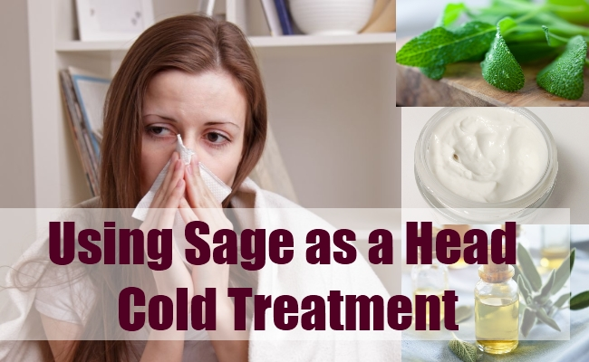 Using Sage as a Head Cold Treatment