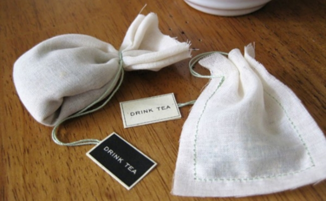 cotton bags for teas