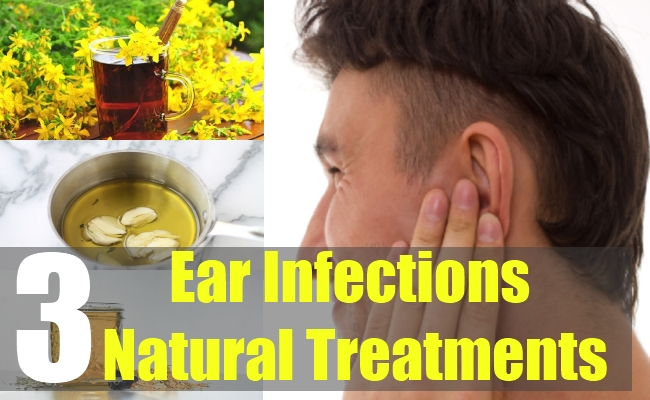 3 Ear Infections Natural Treatments
