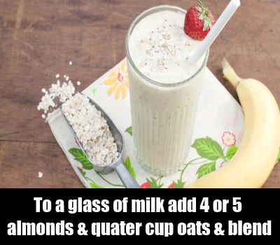 Oatmeal Almond Drink