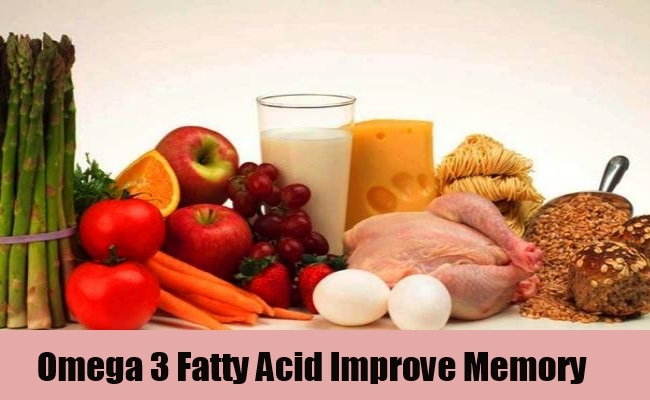 Omega 3 Fatty Acids For Memory Loss