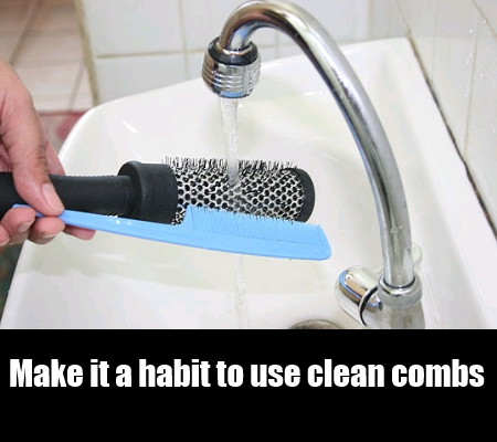 Use Washed Comb