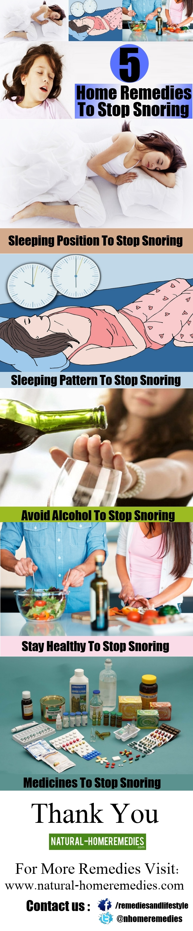 5 Effective Home Remedies To Stop Snoring