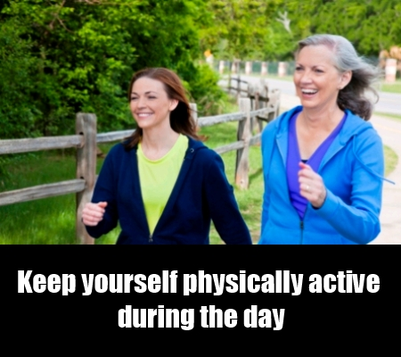 Do Not Be Physically Inactive