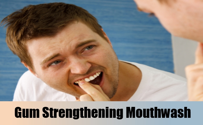 Gum-Strengthening Mouthwash