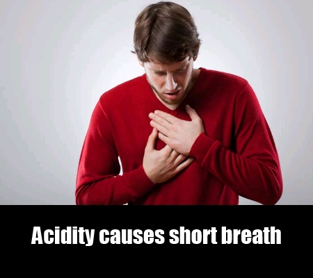 Heavy Breath Due To Acidity