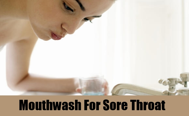 Mouthwash For Sore Throat