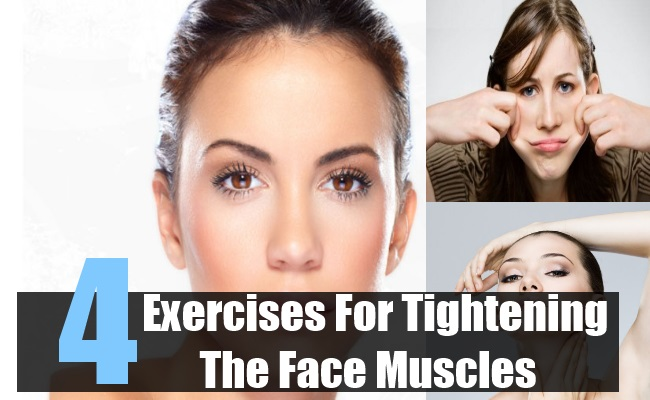 Exercises For Tightening The Face Muscles