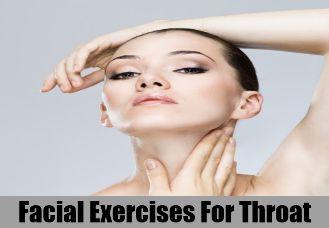 Facial Exercises For Throat