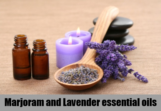 Marjoram and Lavender essential oils