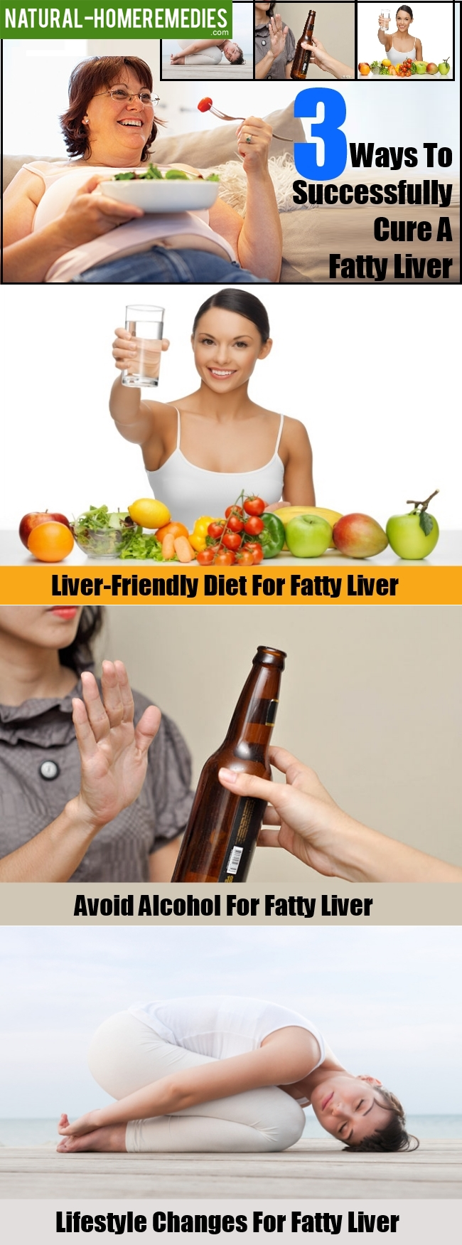3 Ways To Successfully Cure A Fatty Liver