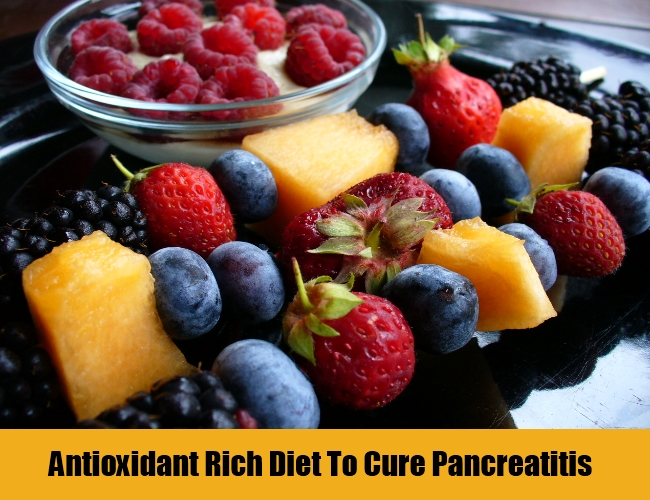 Antioxidant Rich Diet To Cure Pancreatitis