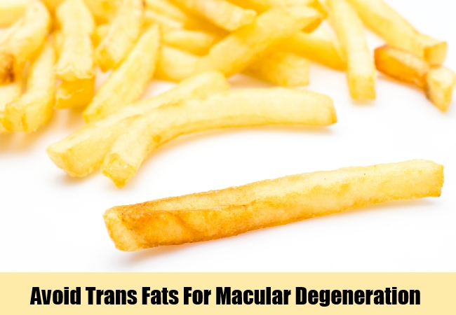 Avoid Trans Fats
